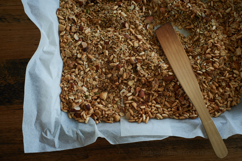 Healthy toasted muesli recipe